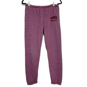 Roots Purple Pink Salt and Pepper Sweatpants